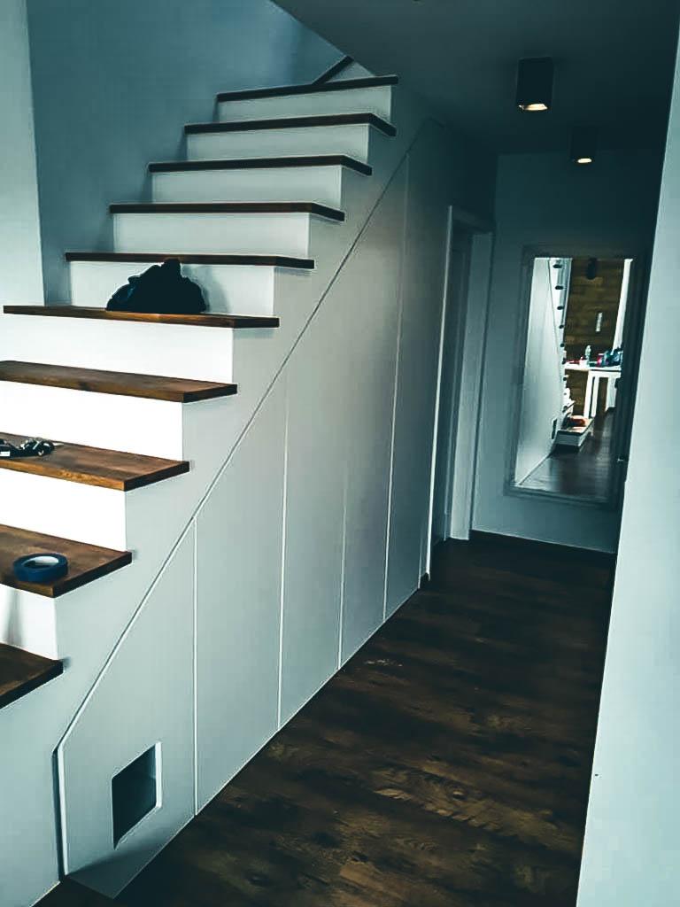 Treppenschrank Nach Mass In Hamburg Sasel Interiors Design